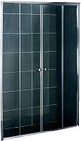 Стеклянная шторка для ванны Coliseum DS 257-150 (матовое стекло) -