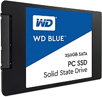 SSD диск Western Digital Blue 250GB (WDS250G1B0A) -