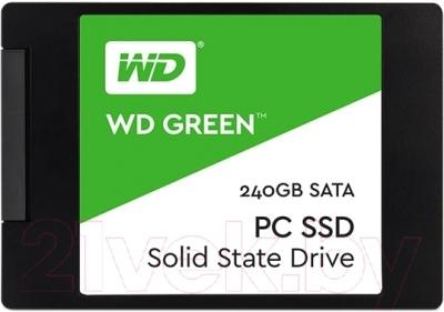 SSD диск Western Digital Green 240GB (WDS240G1G0A)