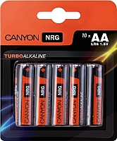 Батарейки АА Canyon ALKAA10 (10шт) -