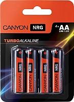 Батарейки АА Canyon ALKAA4 (4шт) -
