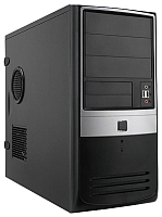 Корпус для компьютера In Win EMR-003 S450HQ7-0 (черный/серебристый) -