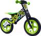 Беговел Toyz Zap (черный/зеленый) -