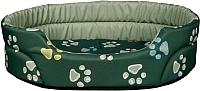 Лежанка для животных Trixie Jimmy 36993 (зеленый) -