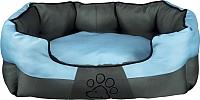 Лежанка для животных Trixie Patty 37531 (серый/синий) -