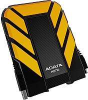 Внешний жесткий диск A-data DashDrive Durable HD710 1TB Yellow (AHD710-1TU3-CYL) -