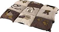 Лежанка для животных Trixie Patchwork 37062 (коричневый/бежевый) -
