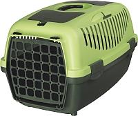 Переноска для животных Trixie Traveller Capri II 39824 (темно-зеленый/зеленый) -