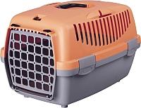 Переноска для животных Trixie Traveller Capri II 39826 (серый/оранжево-розовый) -
