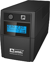 ИБП Mustek PowerMust 636 LCD Schuko Line Int -