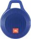 Портативная колонка JBL Clip Plus (синий) -