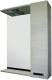 Зеркало для ванной Sanflor Торонто 60 R / Tor.02.60 (венге/орфео серый) -