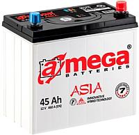 Автомобильный аккумулятор A-mega Asia 45 L+ (45 А/ч) -