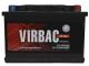 Автомобильный аккумулятор Virbac Classic 75 0 (75 А/ч) -