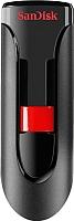 Usb flash накопитель SanDisk Cruzer Glide 64GB Black (SDCZ600-064G-G35) -