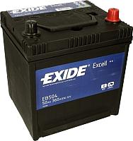 Автомобильный аккумулятор Exide Excell 50 JR EB504 (50 А/ч) -