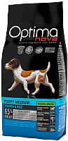 Корм для собак Optimanova Puppy Medium Chiken & Rice (2кг) -