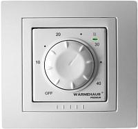 Терморегулятор для теплого пола Warmehaus Basic WH 800 (белый) -