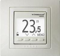 Терморегулятор для теплого пола Warmehaus WH Pro 1000 (бежевый) -