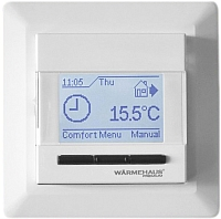 Терморегулятор для теплого пола Warmehaus WH Pro 600 (альпийский белый) -