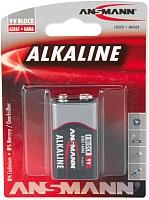 Батарейка PP3 (Крона) Ansmann Alkaline Red 9V E (1515-0000) -