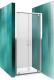 Душевая дверь Roltechnik Lega Line LLDO2/70 (хром/прозрачное стекло) -