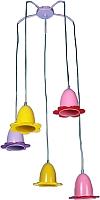 Светильник Максисвет Детство 2-6455-5-Color E27 -