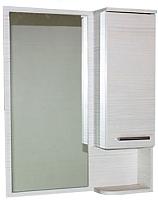 Шкаф с зеркалом для ванной СанитаМебель Прованс 101.600 (правый, гасиенда) -