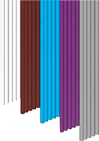 Цветной пластик для 3D ручки WobbleWorks 3Doodler PLA Meta Pack -