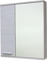 Шкаф с зеркалом для ванной СанитаМебель Прованс 101.650 (левый, гасиенда) -