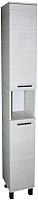 Шкаф-пенал для ванной СанитаМебель Прованс 501.270 (левый, гасиенда) -