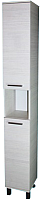 Шкаф-пенал для ванной СанитаМебель Прованс 501.270 (правый, гасиенда) -