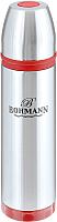 Термос для напитков Bohmann BH-4491 (красный) -