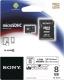 Карта памяти Sony microSDHC 8Gb Class 10 + SD adapter (SR-8NYAT) -