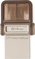 Usb flash накопитель Kingston DataTraveler microDuo 64GB (DTDUO/64GB) -