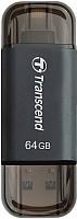 Usb flash накопитель Transcend JetDrive Go 300 64GB (TS64GJDG300K) -