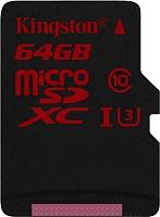Карта памяти Kingston microSDXC 64GB (SDCA3/64GBSP) -