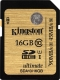 Карта памяти Kingston SDHC Ultimate UHS-I U1 (Class 10) 16GB (SDA10/16GB) -