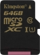 Карта памяти Kingston microSDXC UHS-I U1 (Class 10) 64GB (SDCA10/64GBSP) -