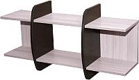 Полка Мебель-Класс Вегас-1 (венге/дуб шамони) -