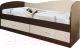 Односпальная кровать Мебель-Класс Лагуна-2 (венге/дуб шамони) -