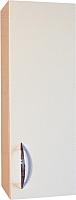 Шкаф-полупенал для ванной СанитаМебель Камелия-22 Д2 (правый, белый) -
