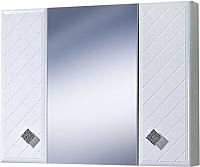 Шкаф с зеркалом для ванной Акваль Зара 85 (EZ.04.85.00.N) -