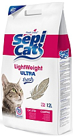 Наполнитель для туалета Sepicat Light Ultra Fresh 9I012K53 (12л) -