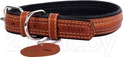 Ошейник Collar Soft 7189 (XS, коричневый)