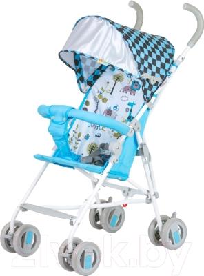 Детская прогулочная коляска Babyhit Weeny (бело-голубой)