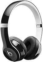 Наушники-гарнитура Beats Solo2 Luxe Edition ML9E2ZM/A (черный) -