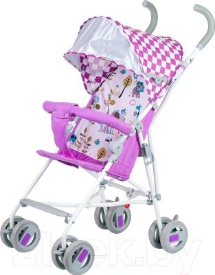 Детская прогулочная коляска Babyhit Weeny (бело-розовый)