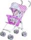 Детская прогулочная коляска Babyhit Weeny (бело-розовый) -