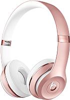 Наушники-гарнитура Beats Solo3 Wireless MNET2ZM/A (розовое золото) -